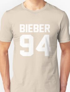 Justin Bieber 94 Unisex T-Shirt