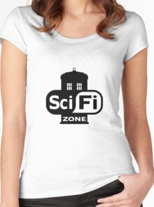 Sci Fi ZONE Women's Fitted Scoop T-Shirt