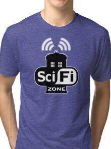 Sci Fi ZONE Tri-blend T-Shirt