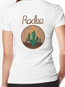 Rodeo Women's Fitted V-Neck T-Shirt