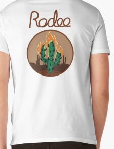 Rodeo Mens V-Neck T-Shirt