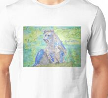 Passion Flower Bear Unisex T-Shirt