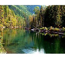 Mountain River - Montana Photographic Print