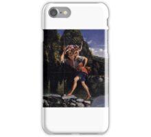 Orazio Gentileschi, Landscape with St. Christopher, iPhone Case/Skin