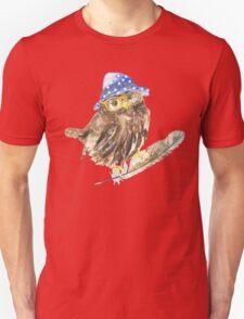 Owl hipster.  T-Shirt