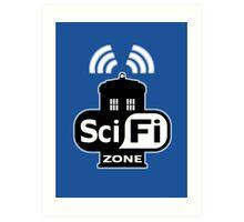 Sci Fi ZONE Art Print