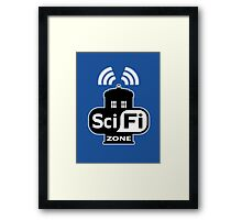 Sci Fi ZONE Framed Print
