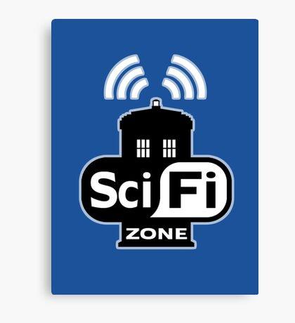 Sci Fi ZONE Canvas Print