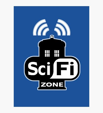 Sci Fi ZONE Photographic Print