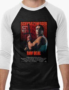 Arnold Schwarzenegger - Raw Deal Men's Baseball ¾ T-Shirt