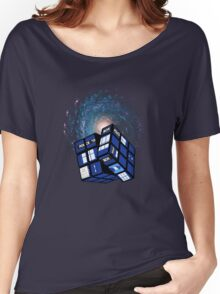 TARDIS CUBE Women's Relaxed Fit T-Shirt