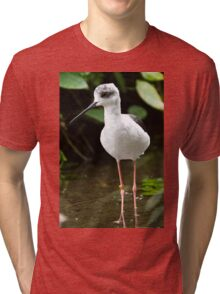 Small Wader Tri-blend T-Shirt