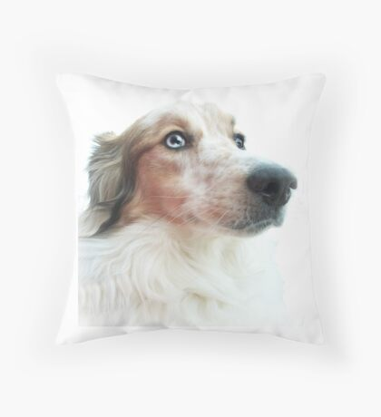 Australian Shepherd Apparel and Decor Throw Pillow