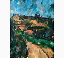 1904 - Paul Cezanne - Bend Of The Road At The Top Of The Chemin Des Lauves Unisex T-Shirt