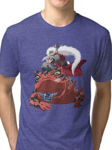 frog senin Tri-blend T-Shirt