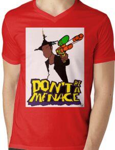 Menace 2 Society Mens V-Neck T-Shirt