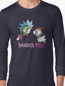 invader rick Long Sleeve T-Shirt