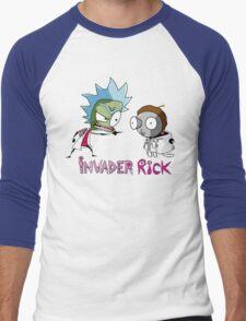 invader rick Men's Baseball ¾ T-Shirt