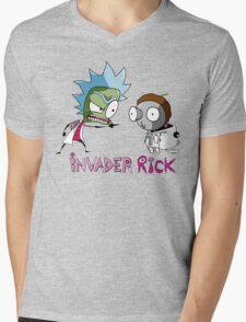 invader rick Mens V-Neck T-Shirt