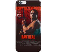 Arnold Schwarzenegger - Raw Deal Polar iPhone Case/Skin