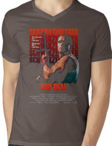 Arnold Schwarzenegger - Raw Deal Polar Mens V-Neck T-Shirt