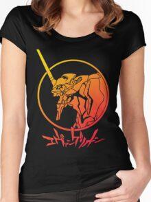 Shin Seiki Evangelion Women's Fitted Scoop T-Shirt