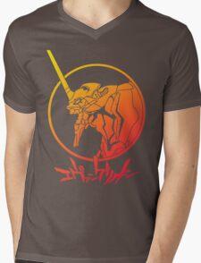 Shin Seiki Evangelion Mens V-Neck T-Shirt