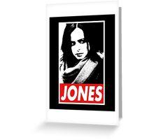 JESSICA JONES - Obey Design Greeting Card