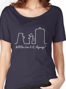 WHOse Line Is It, Anyway? Women's Relaxed Fit T-Shirt