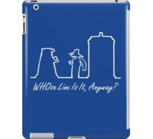 WHOse Line Is It, Anyway? iPad Case/Skin