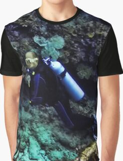 SCUBA DIVING - A WHOLE NEW WORLD UNDERWATER - VARIOUS APPAREL Graphic T-Shirt