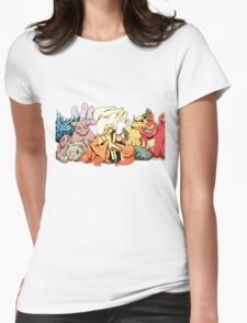 one-nine tail Womens Fitted T-Shirt