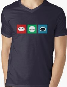 Cutebots Mens V-Neck T-Shirt