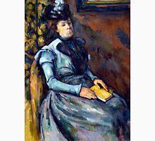1904 - Paul Cezanne - Seated Woman in Blue Unisex T-Shirt