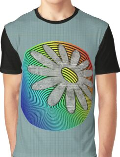 Moon Flower Graphic T-Shirt