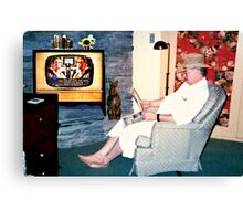 """Relaxin' with a Paper to a Cooter and Kooter Law Firm TV Advertisement ""... prints and products Canvas Print"