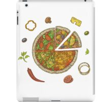 Pizza and Ingredients iPad Case/Skin
