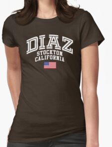 Nate Diaz UFC Womens Fitted T-Shirt