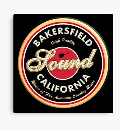 Bakersfield  California Country  Vintage Canvas Print