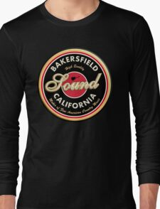 Bakersfield  California Country  Vintage Long Sleeve T-Shirt