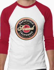 Bakersfield  California Country  Vintage Men's Baseball ¾ T-Shirt