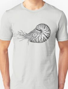 Nautilus black/ white Unisex T-Shirt