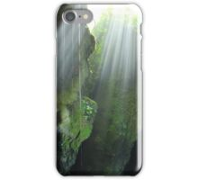 Light Streaming Into a Cave iPhone Case/Skin