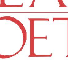 LIT NERD :: DEAD POETS SOCIETY Sticker