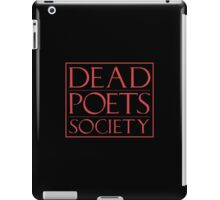 LIT NERD :: DEAD POETS SOCIETY iPad Case/Skin
