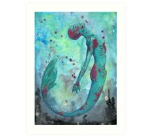 Mermaid Empowerment Art Print