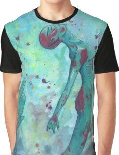 Mermaid Empowerment Graphic T-Shirt