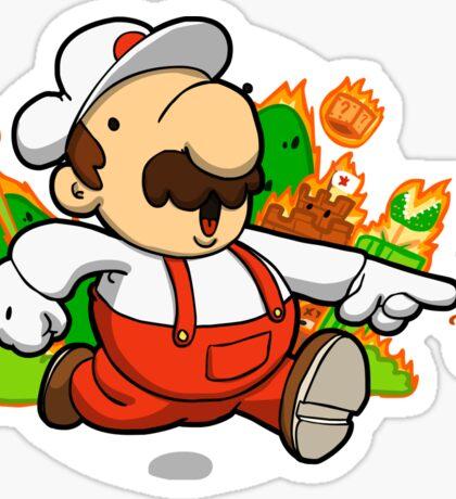 Fire plumber! Sticker