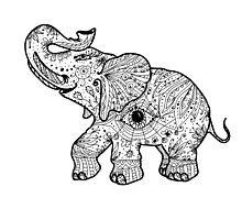 Fortune's Elephant  Photographic Print