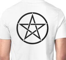Pentacle, Pentagram, Witch, Wizard, WICCA, Modern, Pagan, Witchcraft, Religion, Cult Unisex T-Shirt